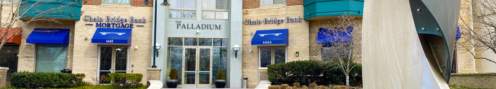 Chain Bridge Bank office